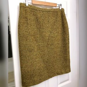 Jcrew Tweed Pencil Skirt sz 10